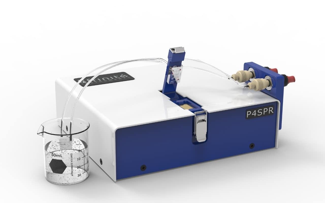 P4SPR Portable 4-channel surface plasmon resonance
