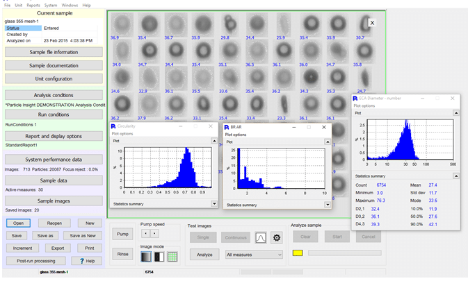 Particle Shape, Image Analysis for Laser Diffraction