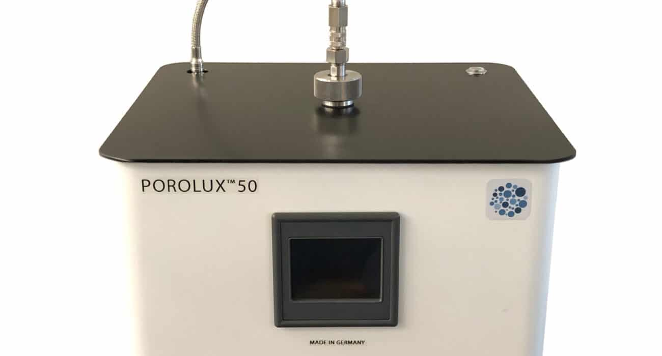 Porolux 50, poresize porometer