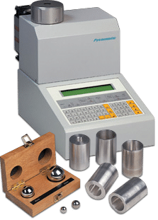 Pycnometer, Thermo Fisher Scientific, Meritics density measurement
