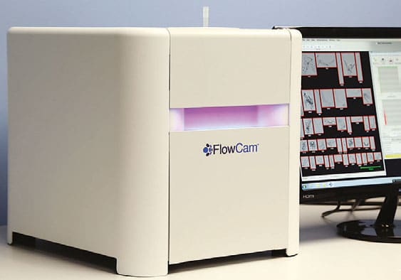 flowcam-cyano, Meritics Ltd, algae analysis