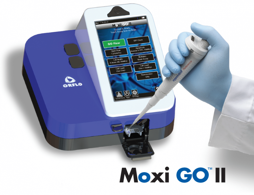 Meritics Moxi Cell counting