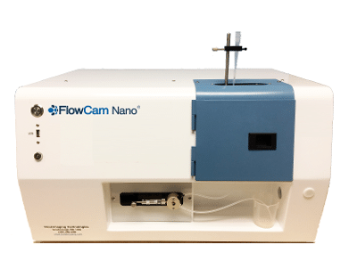 FlowCam Nano Meritics Image Analysis